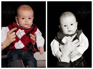 Baby Max Three Month Photos